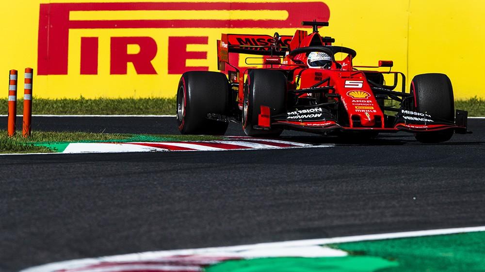F1 | GP Giappone, Suzuka amara per la Ferrari: Vettel secondo, Leclerc settimo
