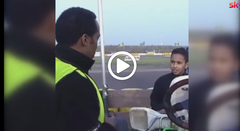 F1 | Hamilton ricorda i tempi del kart [VIDEO]
