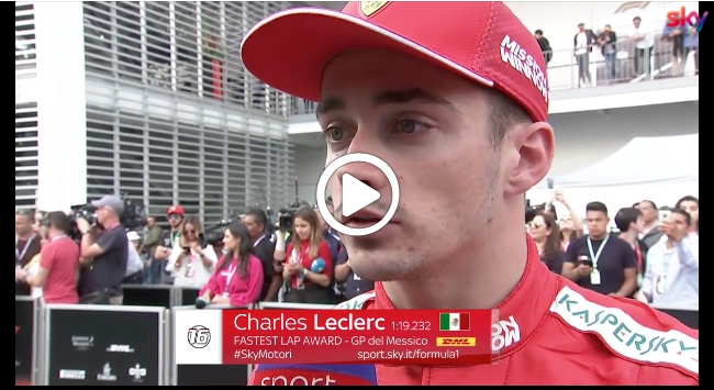 "Formula 1 | GP Messico, Leclerc analizza la strategia: ""Devo essere più decisivo"" [VIDEO]"