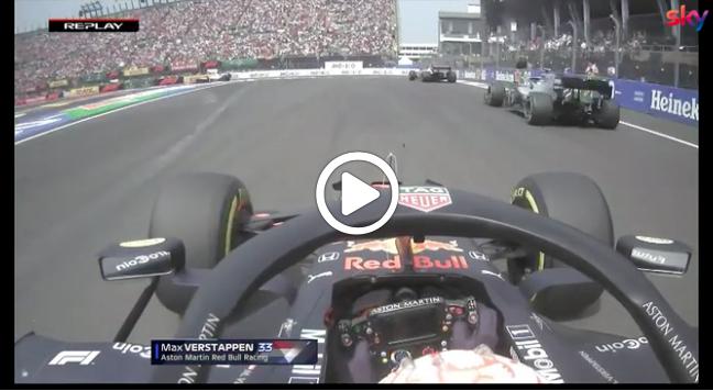 Formula 1 | GP Messico, Verstappen fora dopo il tentativo di sorpasso su Bottas [VIDEO]