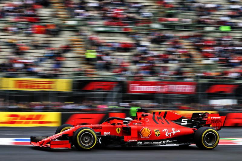 F1 | GP Messico: Vettel chiude al comando le seconde libere