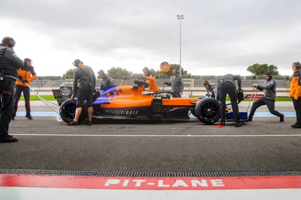 F1 | Test Pirelli 2021, McLaren in pista al Paul Ricard