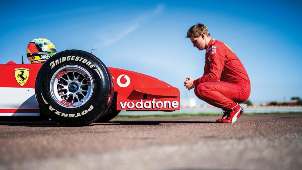 F1 | Mick Schumacher in pista a Fiorano con la F2002 di papà Michael
