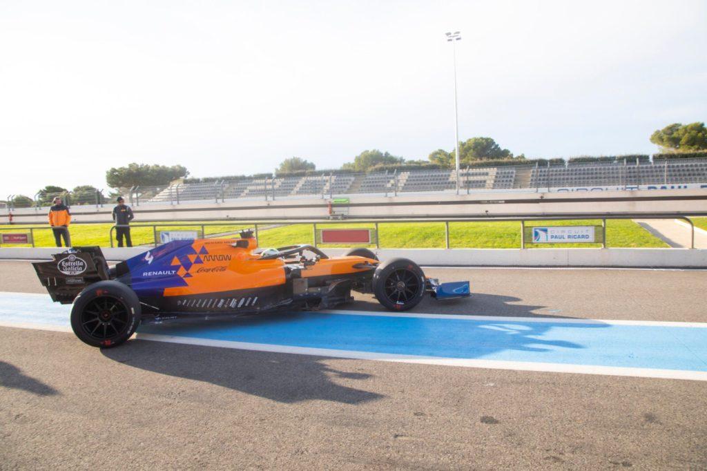 F1 | Pirelli 2021, Norris chiude la due giorni di test al Paul Ricard