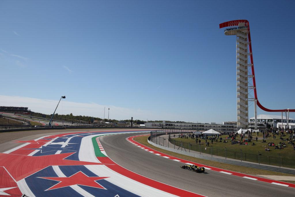 Il Gran Premio degli Stati Uniti di Formula 1 in diretta TV
