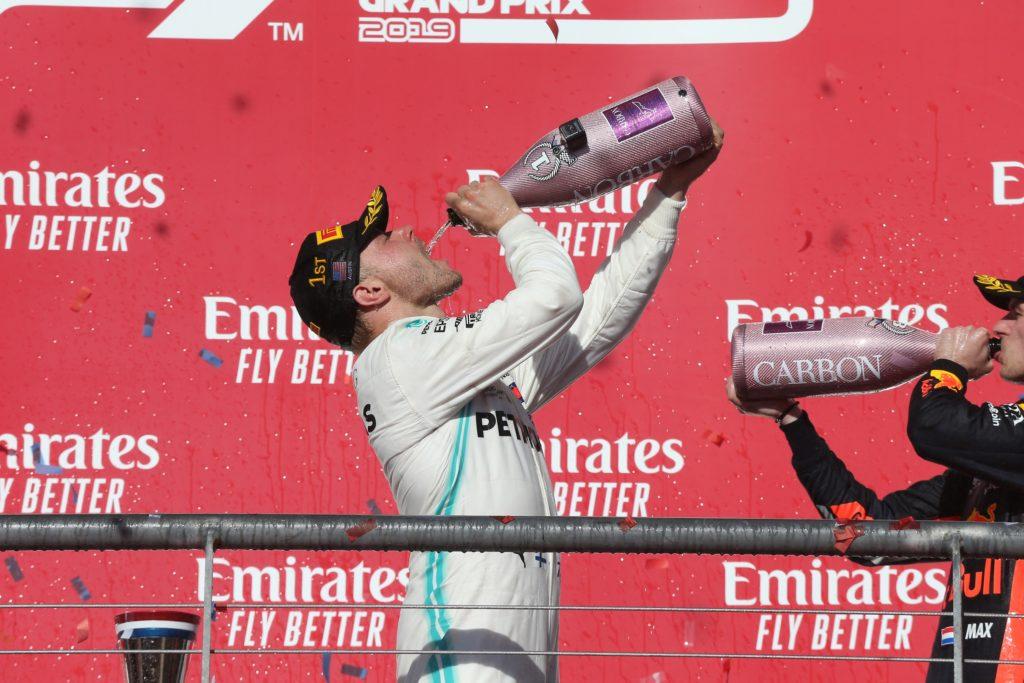 """F1   Mercedes, la gioia di Bottas: """"Bello vincere così!"""""""