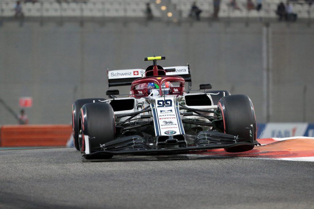 F1 | Disastro Alfa Romeo ad Abu Dhabi, Giovinazzi e Raikkonen fuori in Q1