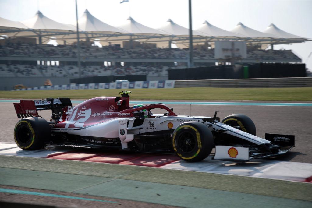 F1 | Alfa Romeo, Giovinazzi scatterà dall'ottava fila ad Abu Dhabi