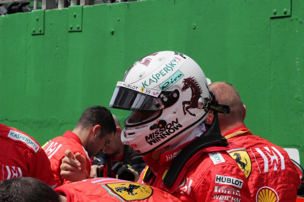 """F1   Ferrari, Vettel sul contatto con Leclerc: """"Un vero peccato"""""""