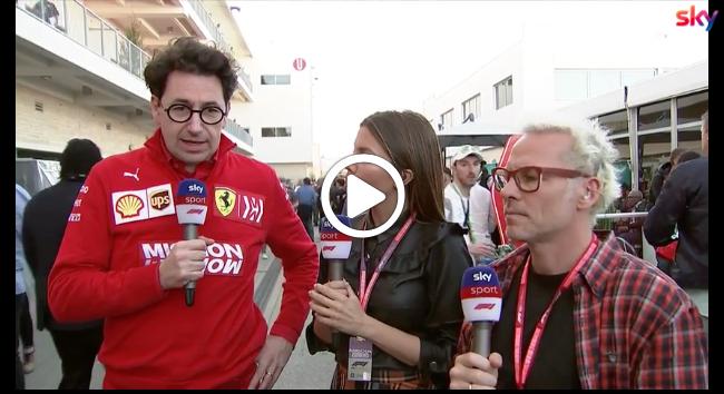 Mattia Binotto risponde alle accuse secondo cui la Ferrari ha ingannato