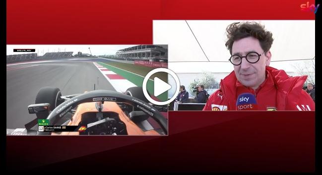 """Formula 1   GP Stati Uniti, Binotto sulle nuove regole: """"Un voto? Direi sette"""" [VIDEO]"""