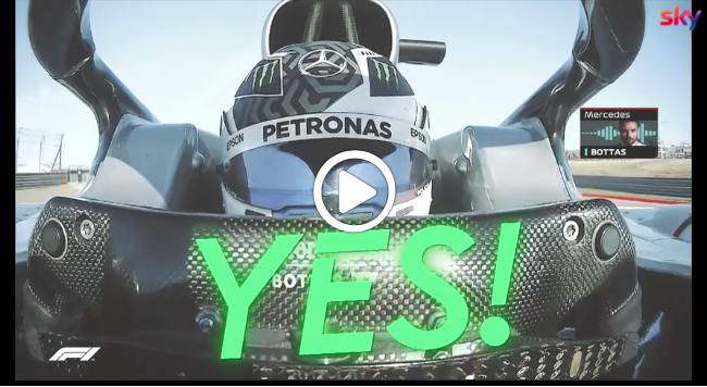 Formula 1 | GP Stati Uniti, Bottas conquista la pole ad Austin [VIDEO]