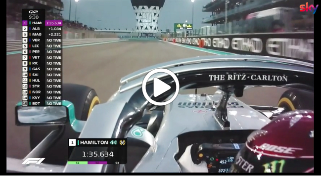 Formula 1 | GP Abu Dhabi, gli highlights delle qualifiche [VIDEO]