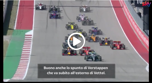 F1 | GP Stati Uniti, gli highlights della gara [VIDEO]