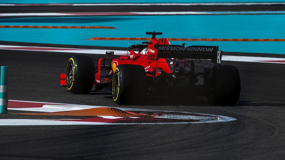 F1 | GP Abu Dhabi, Vettel e Leclerc chiudono le FP3 in quinta e sesta posizione