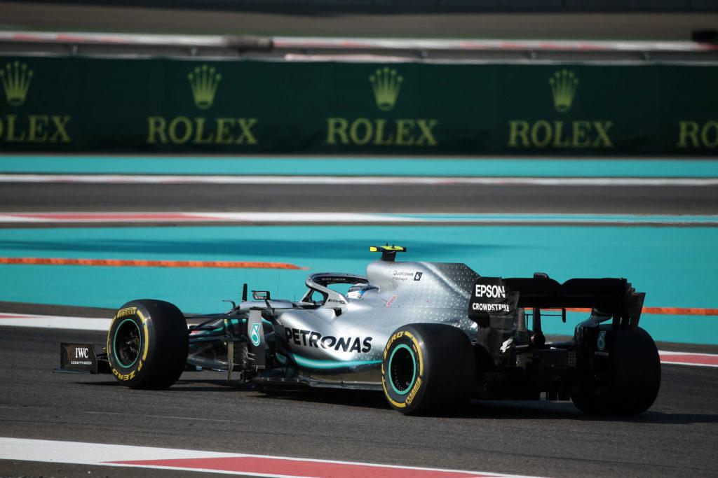 F1 | Test Abu Dhabi, Bottas e Russell in pista con la Mercedes