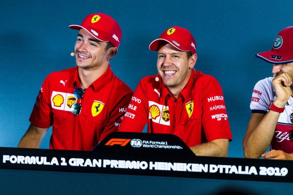 Formula 1 | GP Abu Dhabi, Vettel e Leclerc protagonisti della conferenza stampa del giovedì