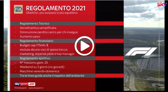 F1   Regole 2021, semplificazione aerodinamica e budget cap: l'analisi di Carlo Vanzini [VIDEO]