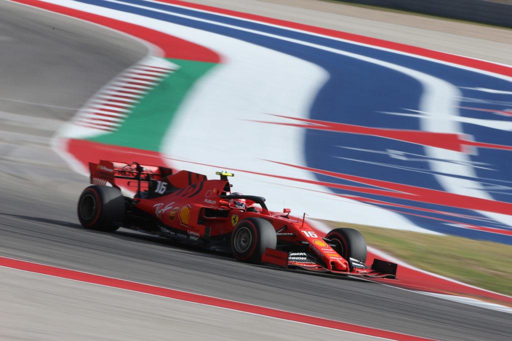 Formula 1   GP Stati Uniti, secondo e quarto tempo per Leclerc e Vettel nel venerdì di Austin