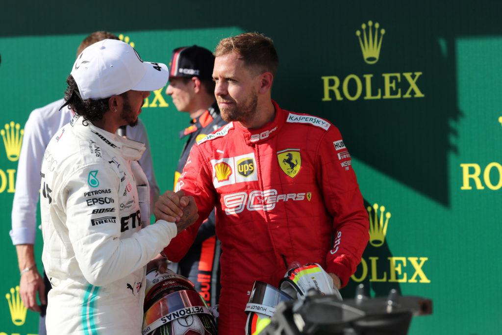 """F1   Vettel: """"Hamilton in Ferrari? È un buon cliente. Ne ha più di una…"""""""