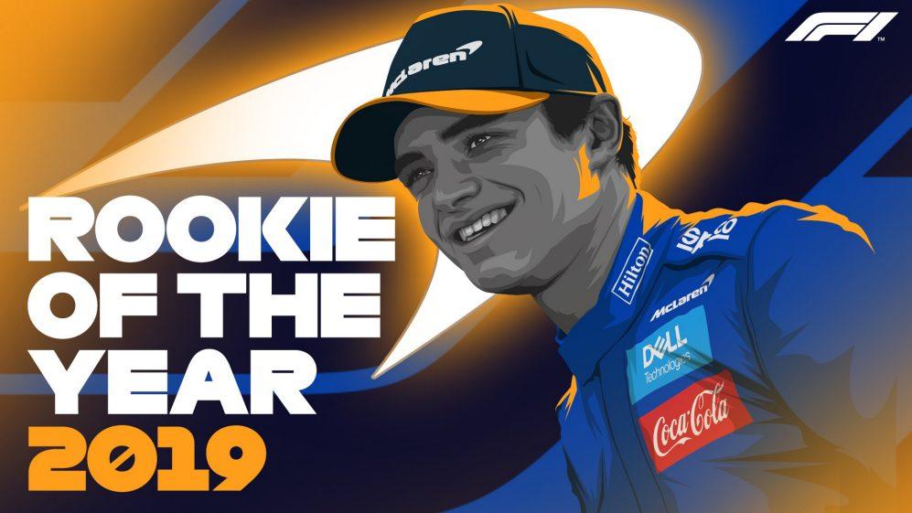 F1 | Lando Norris votato come miglior rookie del 2019