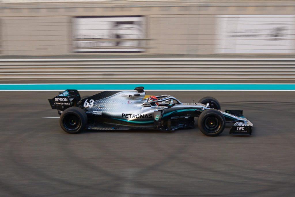 F1 | Test Pirelli 2021, Mercedes in pista con Russell ad Abu Dhabi