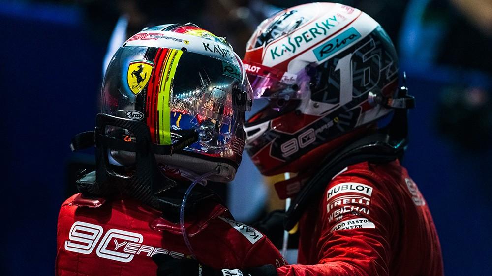 F1 | Ferrari, Vettel e Leclerc partiranno alla pari nel 2020