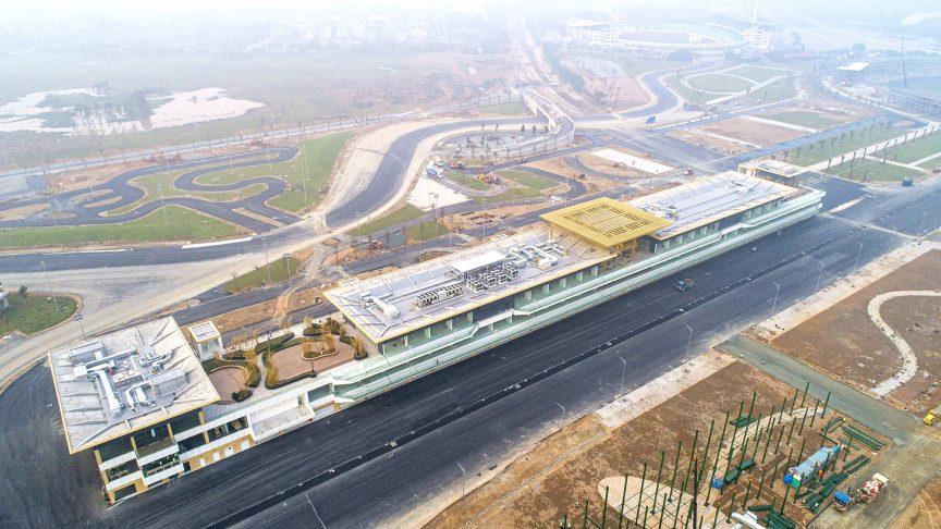 F1 | GP Vietnam, terminato il pit building di Hanoi