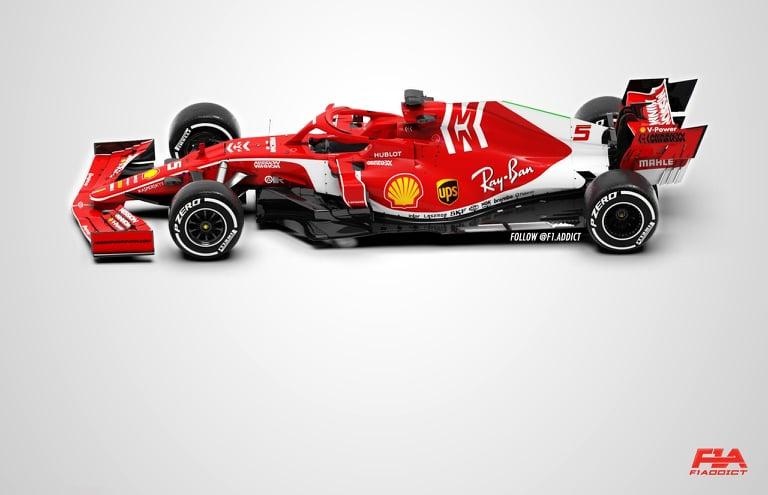 F1 | Rendering Ferrari 2020
