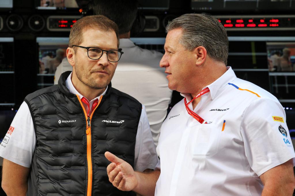 """Formula 1   Brown sulla ristrutturazione McLaren: """"Abbiamo rimosso la politica dalla squadra"""""""
