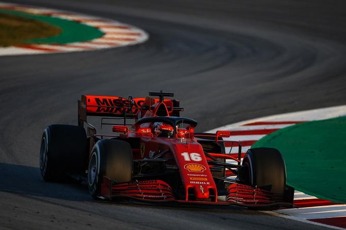 F1 | Test, Ferrari in pista con il logo Mission Winnow
