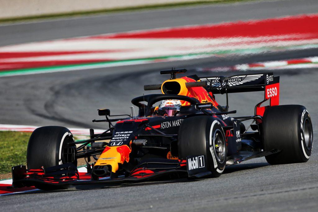 F1   Soddisfazione in casa Red Bull dopo la prima giornata di test