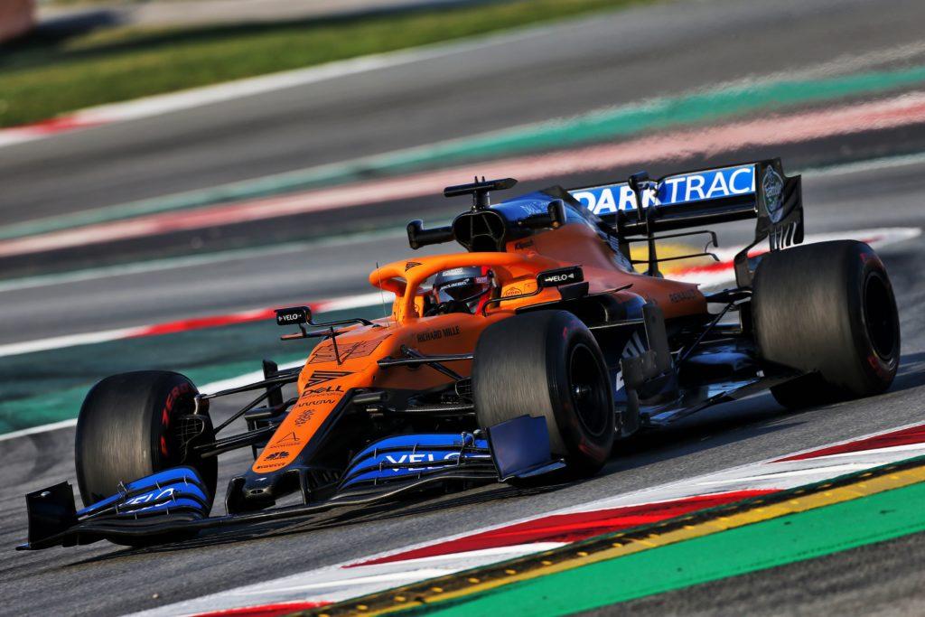 F1 | McLaren, nuove componenti sulla MCL35 nell'ultima giornata di test