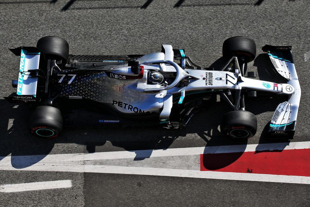 F1 | Test Barcellona: Bottas velocissimo, KO motore Ferrari