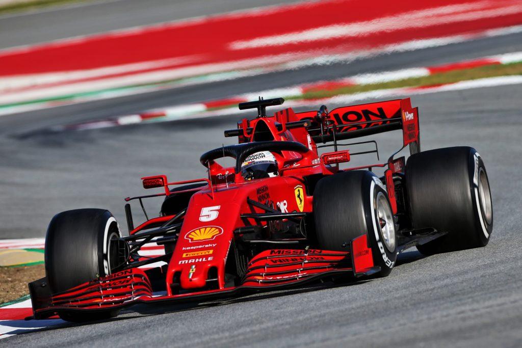 F1   La Ferrari ha completato 13 Gran Premi di Spagna durante i test
