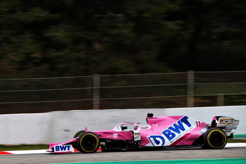 F1 | Soddisfazione in casa Racing Point dopo i test del Montmelò