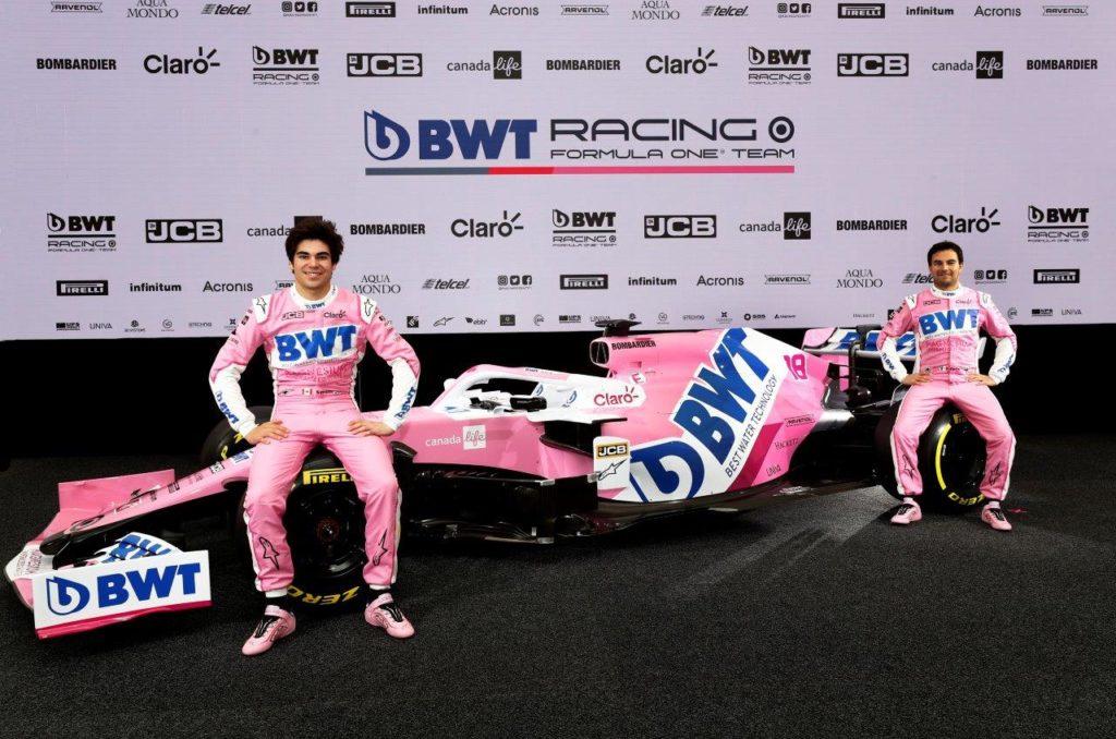 F1 | BWT promuove la partnership con la Racing Point per la stagione 2020
