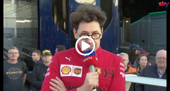 """F1   Binotto realista: """"Alla Ferrari manca ancora velocità per vincere"""" [VIDEO]"""