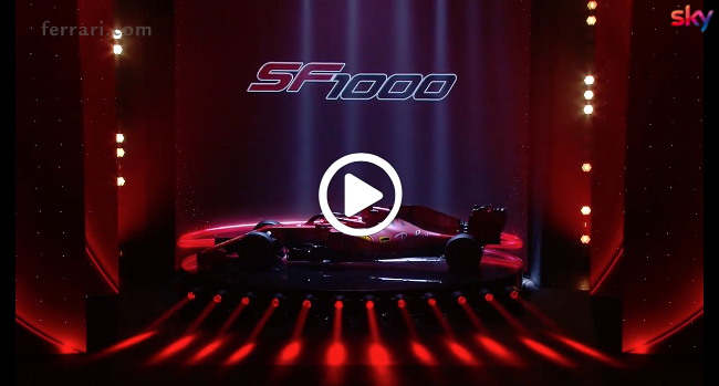 Formula 1 | Ferrari, svelata la nuova macchina: si chiama SF1000 [VIDEO]
