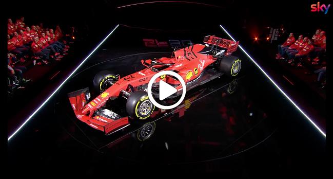 Formula Uno, la presentazione della nuova Ferrari live su Sky