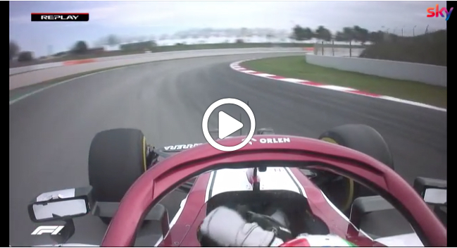 F1 | Alfa Romeo, Giovinazzi a muro nella quinta giornata di test [VIDEO]