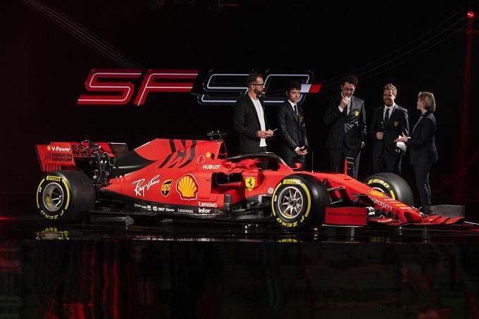 F1 | Il calendario delle presentazioni delle vetture 2020