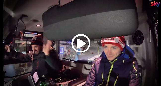 Formula 1   Ferrari, sfida in Val Gardena tra Vettel e Leclerc su un gatto delle nevi [VIDEO]