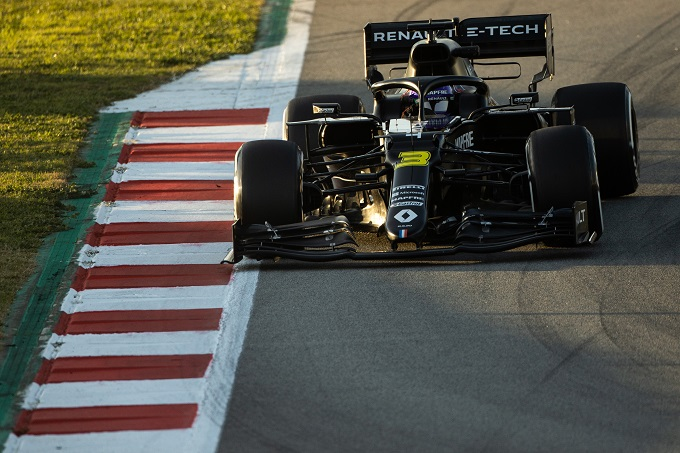 """Test F1   Renault, Ricciardo: """"La nostra affidabilità è molto buona"""""""