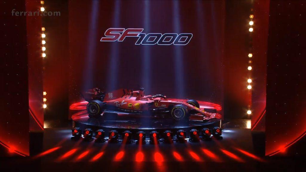 Formula 1: Ferrari SF1000, si chiamerà così la nuova monoposto della Rossa