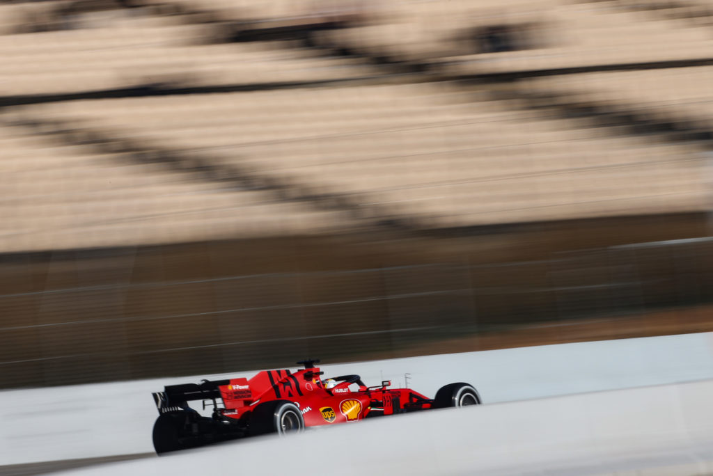 F1 | Test Barcellona, Vettel fermato da un problema alla power unit