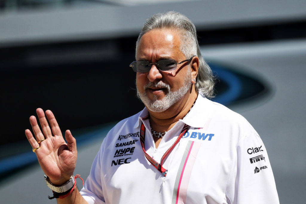 "Formula 1 | Vijay Mallya sull'accordo Racing Point – Aston Martin: ""Felice per la squadra"""