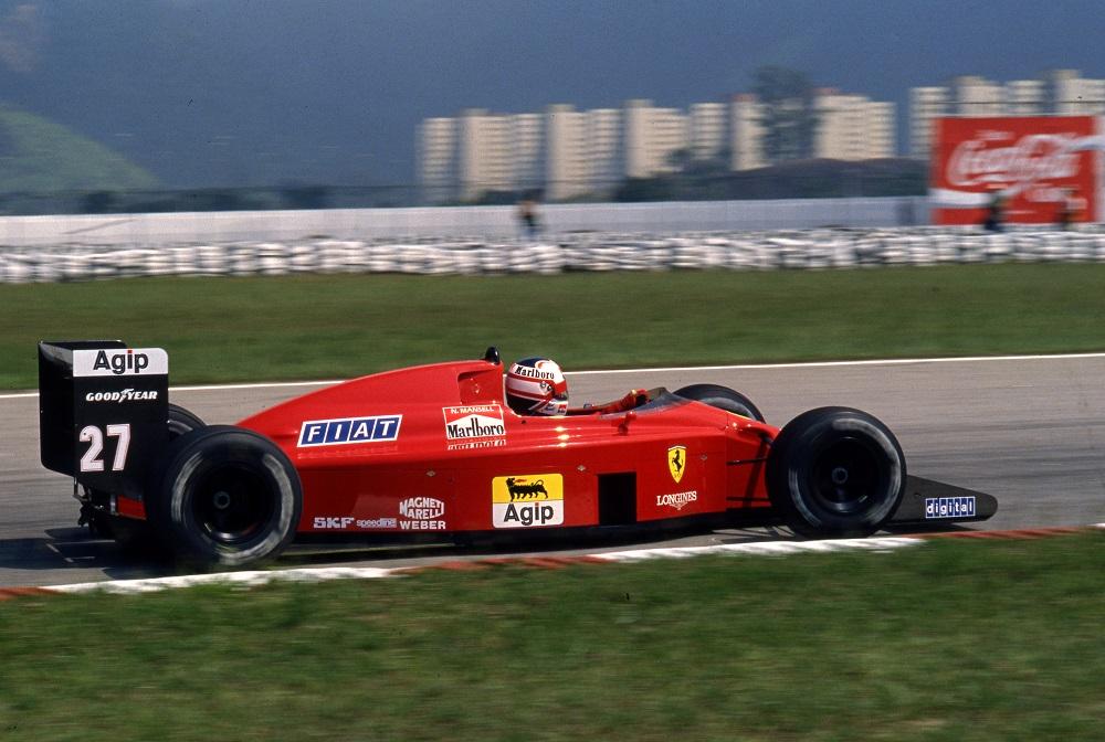 F1 | GP Brasile 1989, Nigel Mansell trionfa all'esordio con la Ferrari
