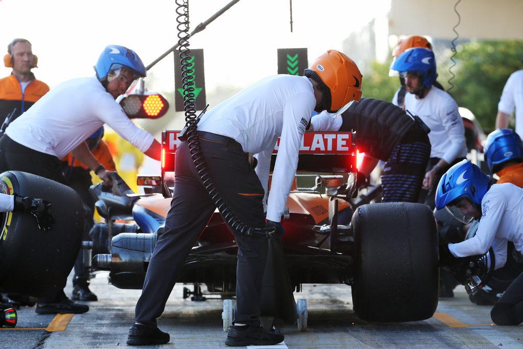 F1   McLaren: lo staff negativo al tampone