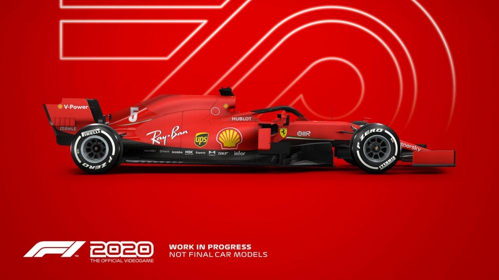 F1 2020 - Concept trailer di lancio